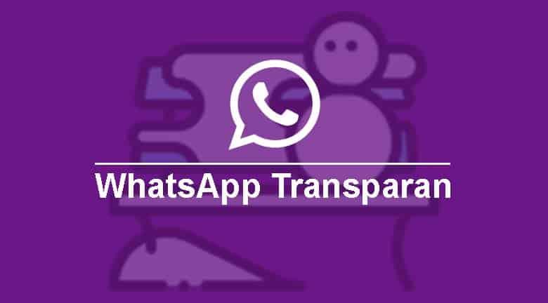WhatsApp Transparan